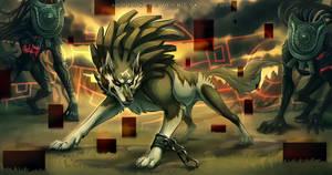 Wolf Link : Ambush by Aeonrin