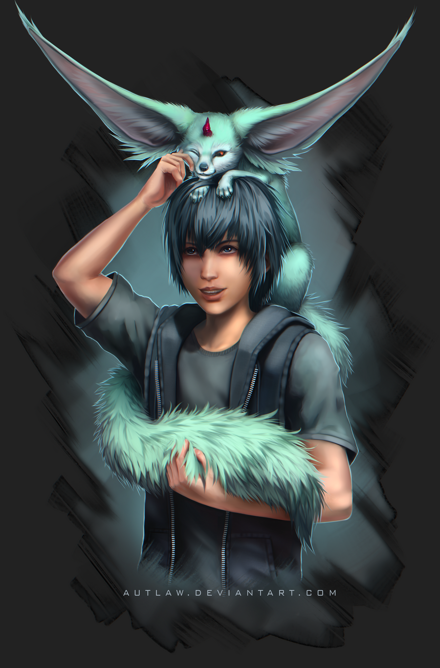 ff15 carbuncle by invaderdeepsauce - photo #16