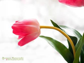 Tulip - Polymer Clay Flowers