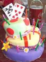 Unbirthday Cake by sockaichan