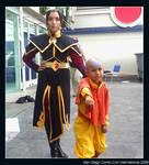 Aang and Azula