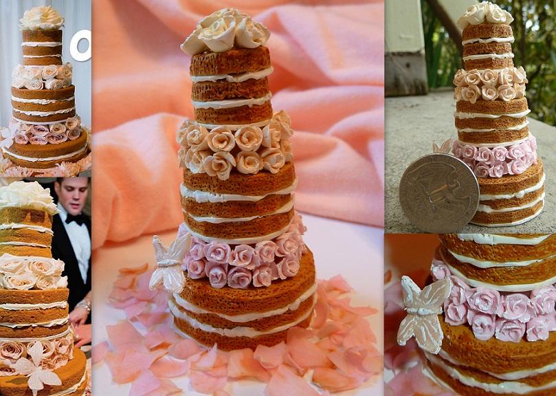 Hilary Duff\'s wedding cake mini by Rachelslittlethings on DeviantArt