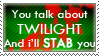 I'll Stab You