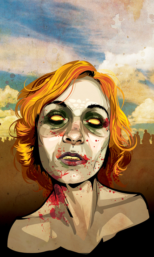 Dead Red Head by Joey-Zero
