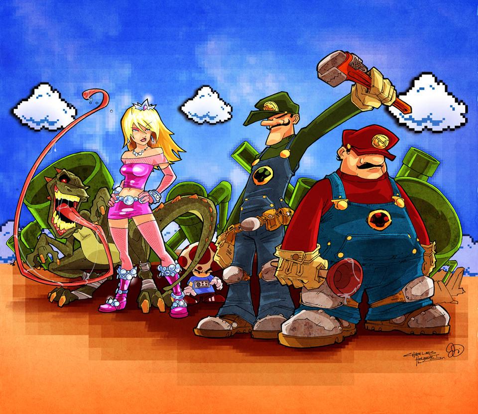 Mushroom Revolution. by Joey-Zero