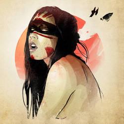 Blood Moon Priestess. by Joey-Zero