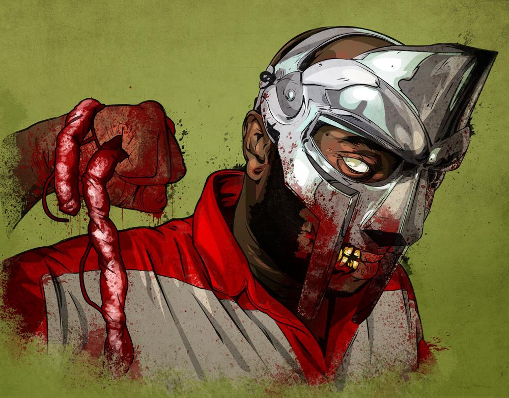 Metal Face Doom-bie by Joey-Zero