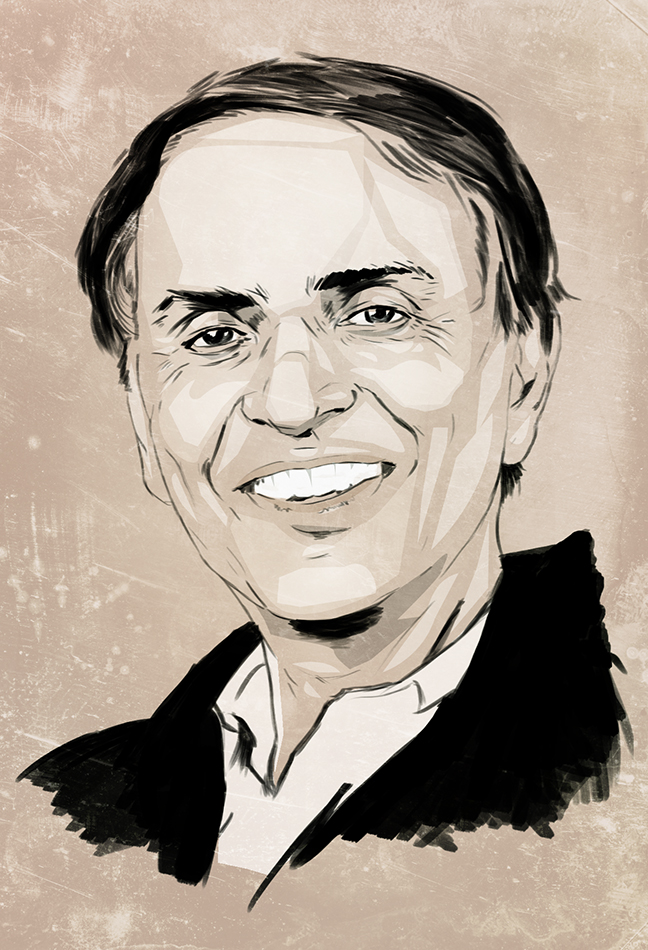 Carl Sagan- Again. by Joey-Zero