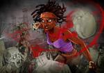 Michonne, mutilating