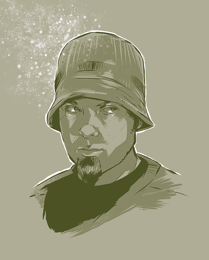 DJ Shadow by Joey-Zero