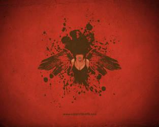 Evil Chick Wallpaper by Joey-Zero