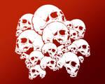Skull Desktop 2 by Joey-Zero