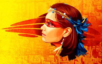 Amazon Goddess by Joey-Zero
