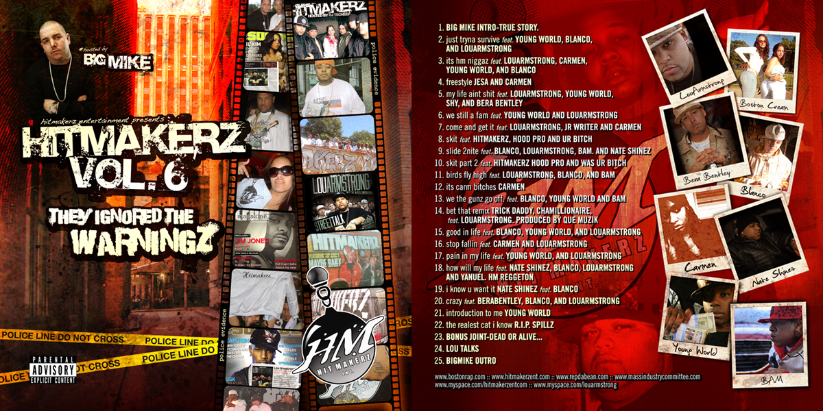 Hitmakerz Mixtape Vol. 6 by Joey-Zero