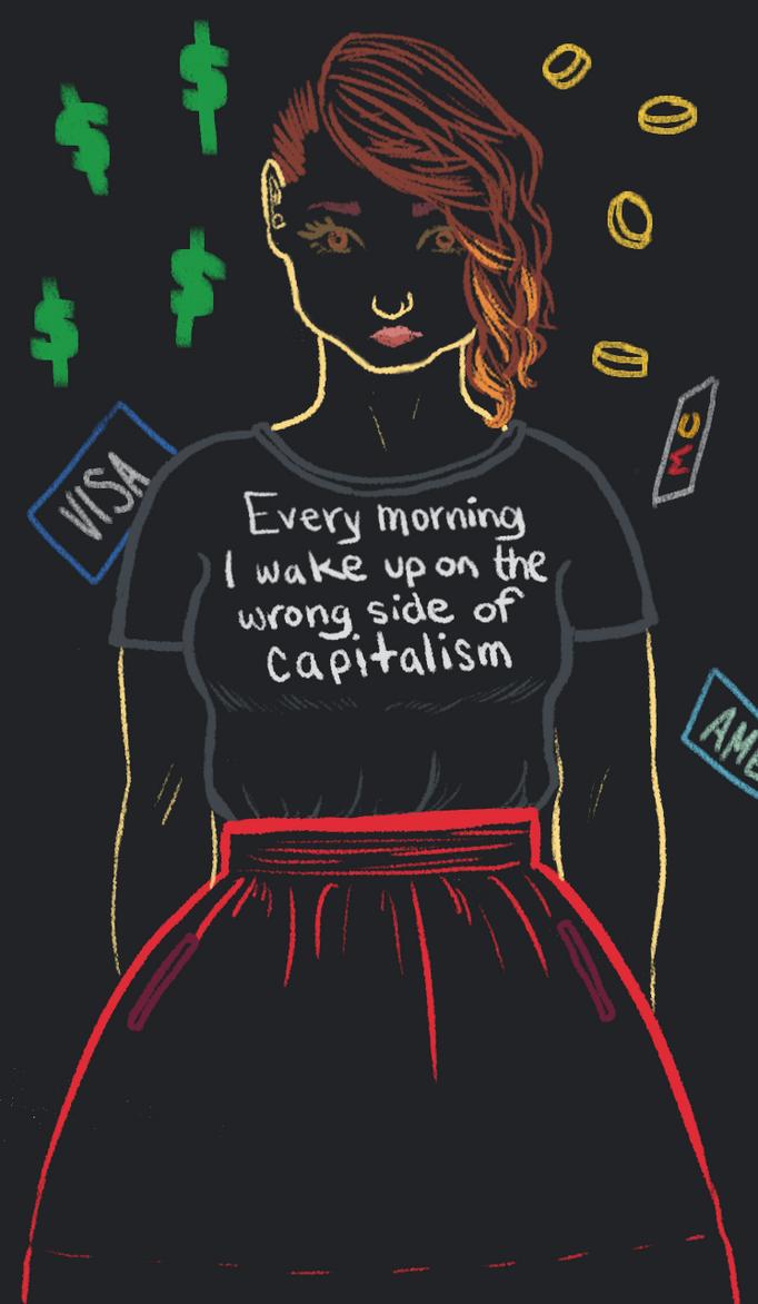Fuck Capitalism by loxymoxy