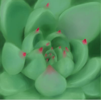Succulent by loxymoxy