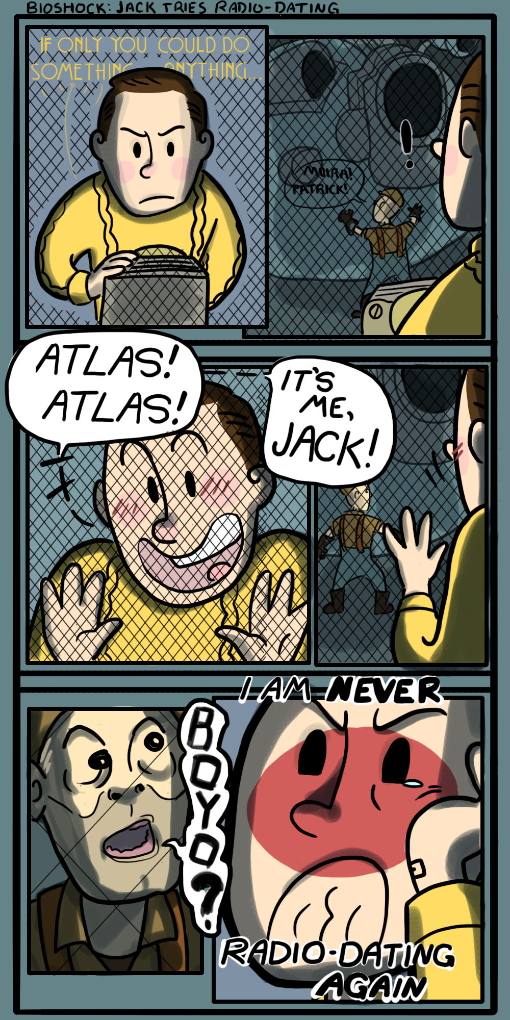 Big Sister Quotes From Little Sister Bioshock Cartoon: Jack...