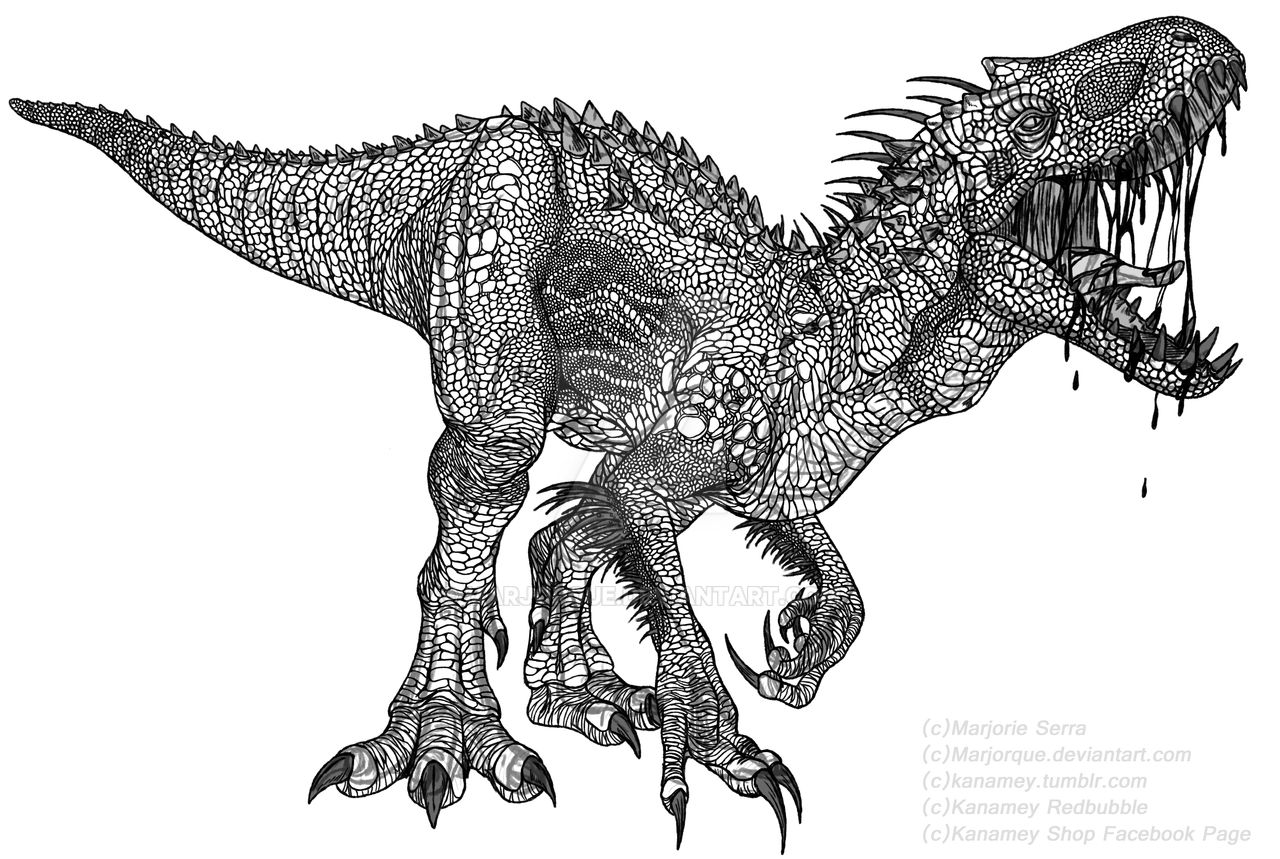 Indominus Rex For Sale Redbubble Society6 Inprnt By
