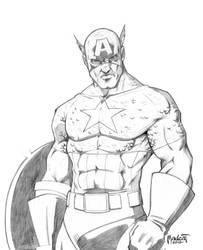 Captain America by Digital-Paladin