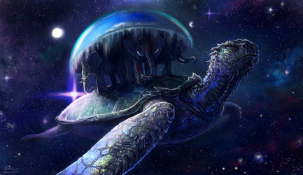 The Great A'tuin by Angevere