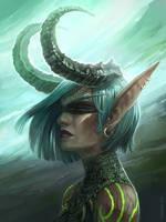 Demon hunter by Angevere