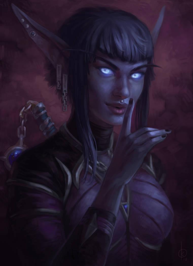 Nightborne by Angevere on DeviantArt
