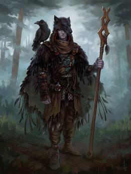 Bird the druid