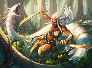 Auriok warrior