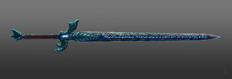Kaldorei sword