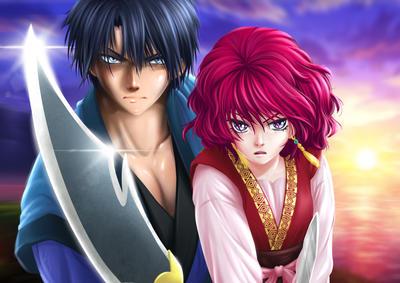 Yona and hak - Akatsuki no yona