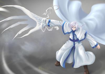 Kija - white dragon - yona of the dawn