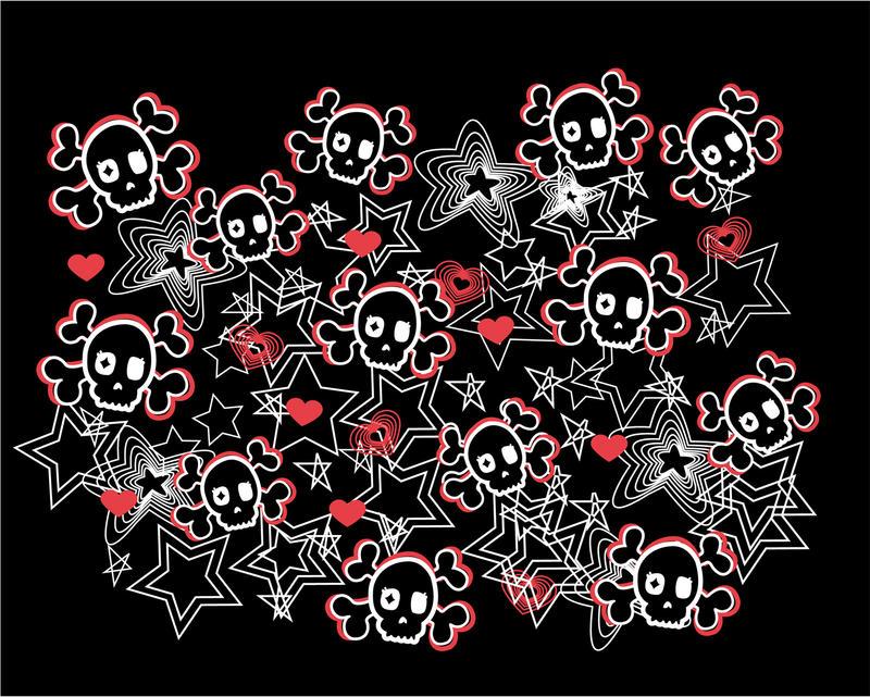 gallery for cute skull desktop wallpaper