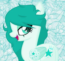 Lil' Miss Teal (PONIFIED)