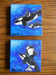 Both Orca Paintings