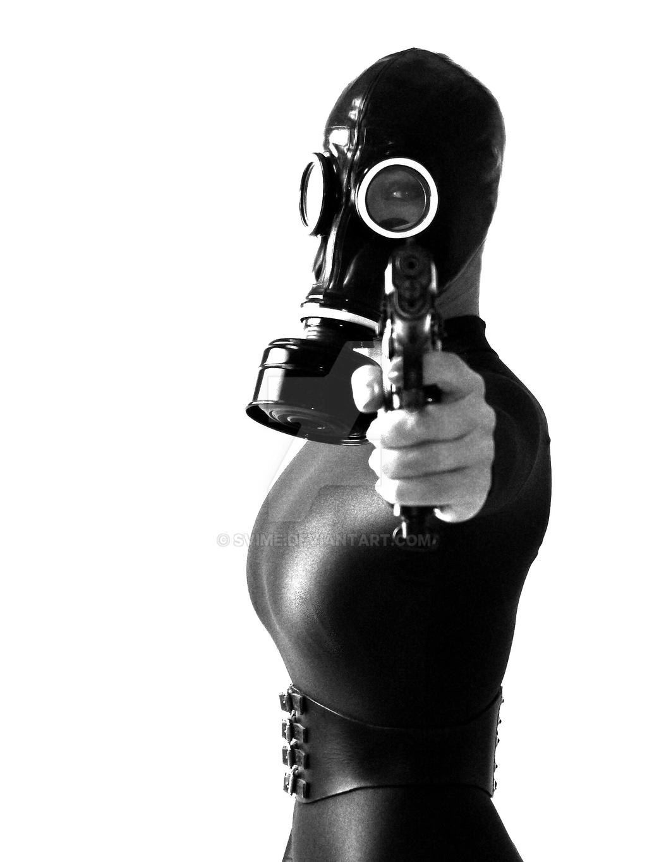 Female assassin by Svime