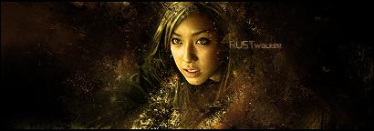 Rust Walker Sign by Ryrax