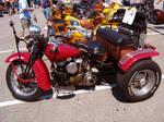 '57 Harley-Davidson Flyer Flathead Trike by musksnipe