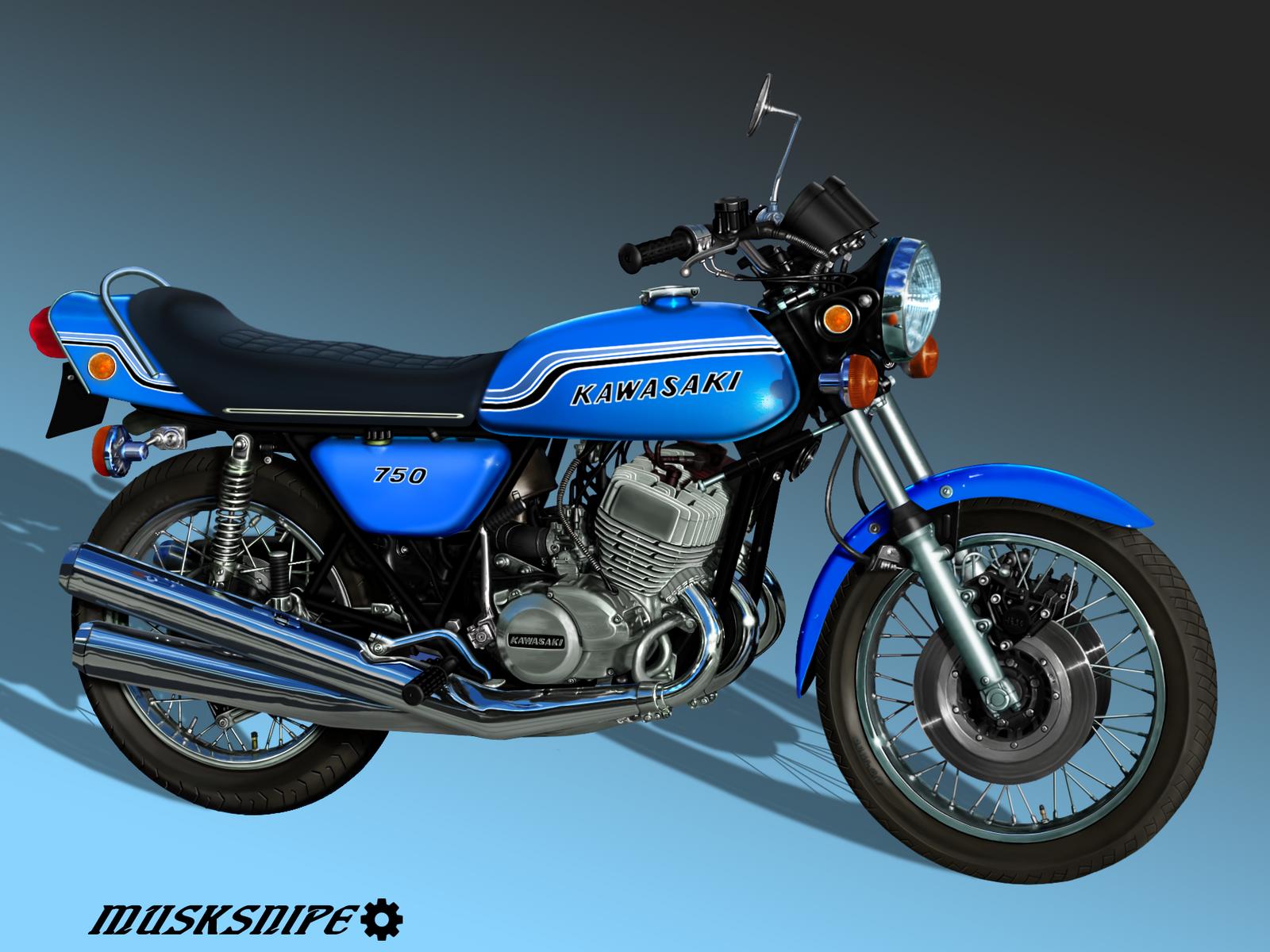 Kawasaki H Mach Iv For Sale