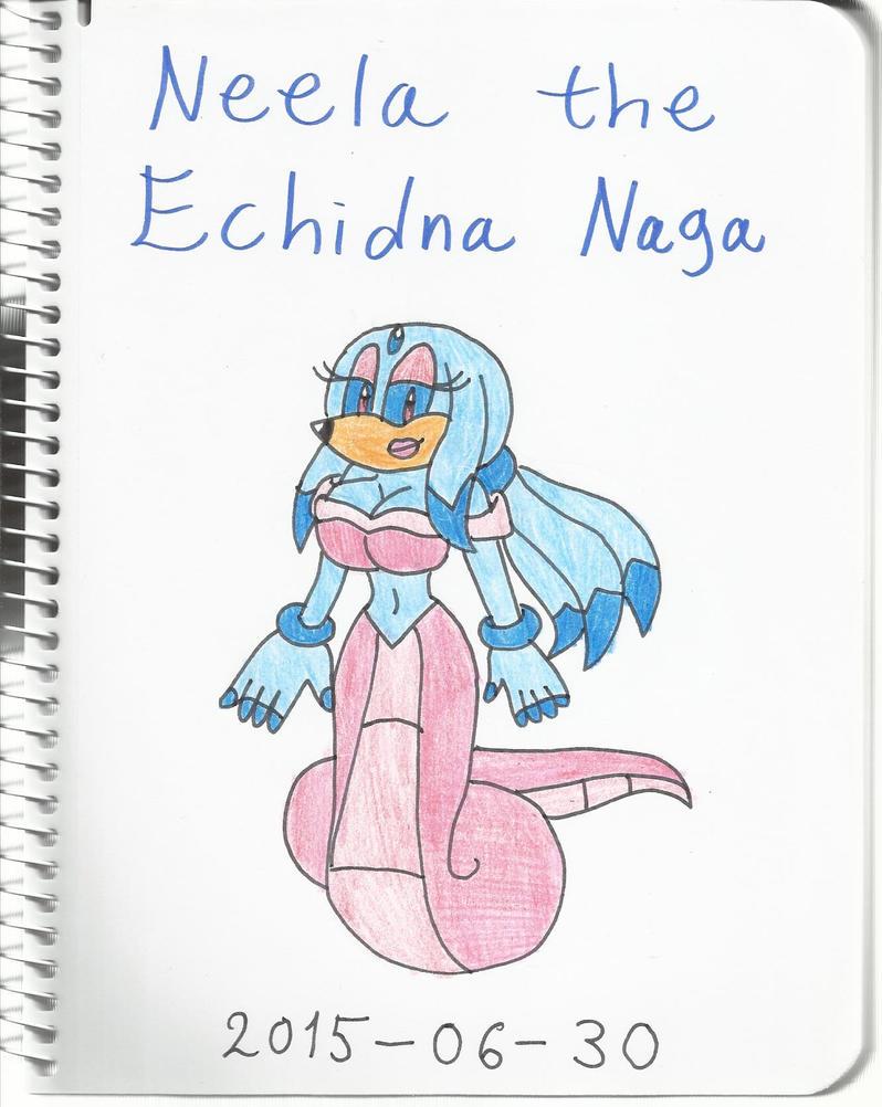 Neela the Echidna Naga by KatarinaTheCat