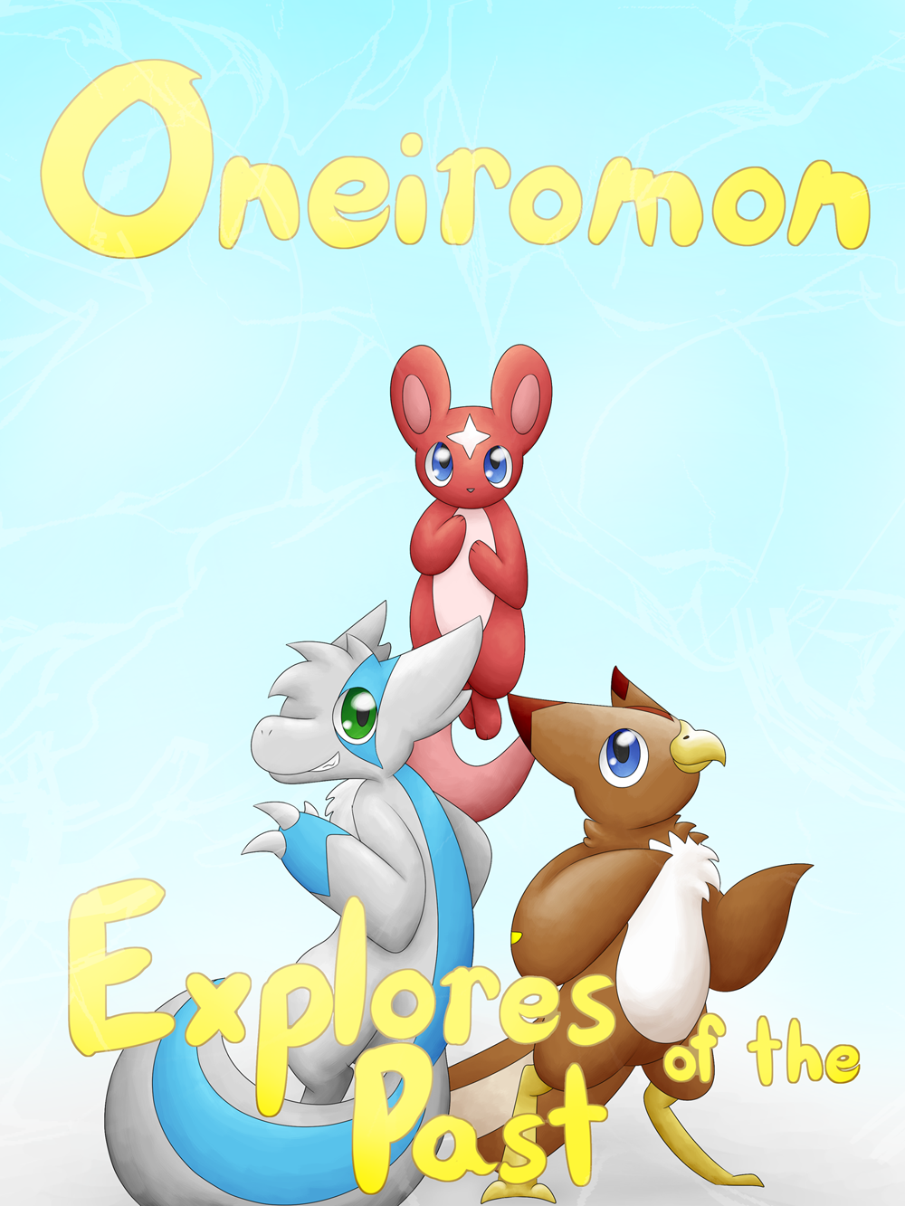 Oneiromon Explorers of the Past cover