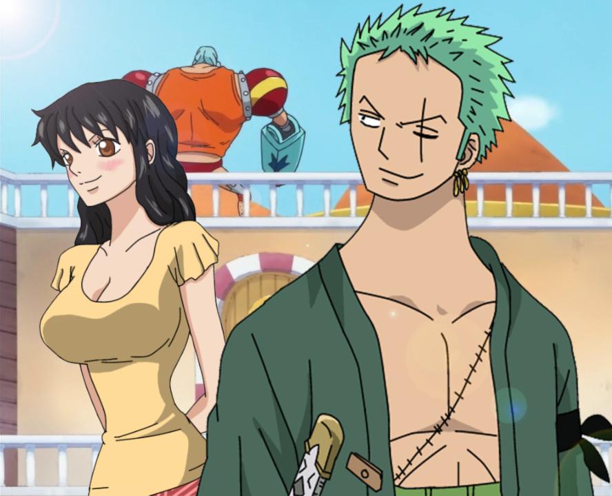 One Piece OC FS =ZoroXHeba= .:.Smiles.:. by Heba-Asawa
