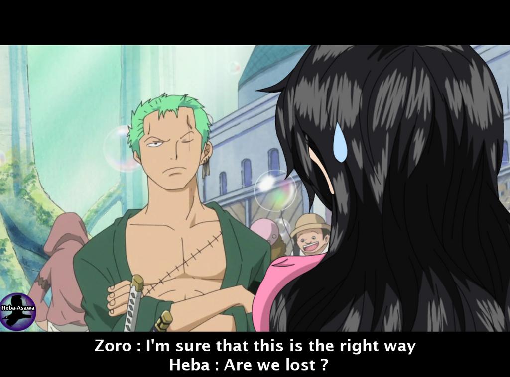 One Piece OC .: ZoroXHeba - After 2 years   .:. by Heba-Asawa