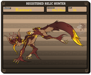 Relic Hunter - Ramses by FelFeyn