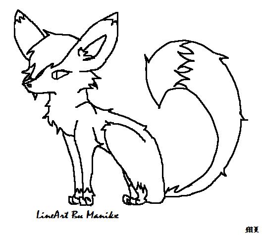 Simple Fox Drawing Simple Fox Drawing Simple Fox
