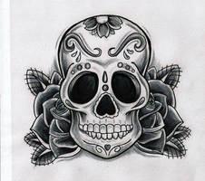 Sugar Skull by Kirzten