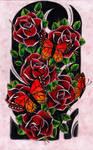 Roses + Butterflies