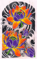 Lotus sleeve by Kirzten