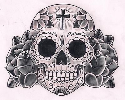 SugarSkull by Kirzten