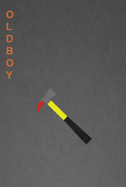 Oldboy minimalist by SpaceDelusion