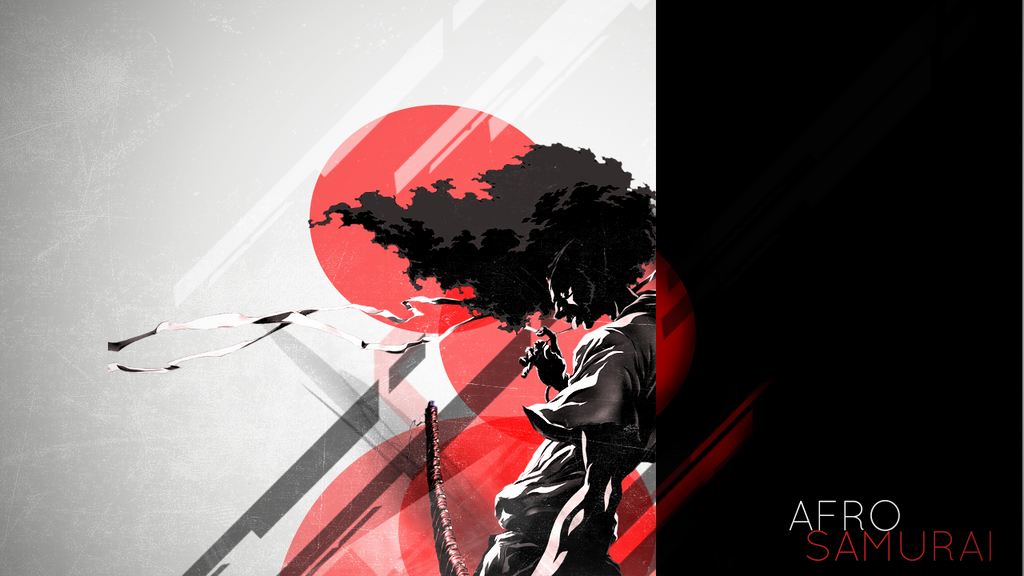 Afro Samurai abstract by SpaceDelusion on DeviantArt